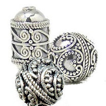 Bali Silver Beads