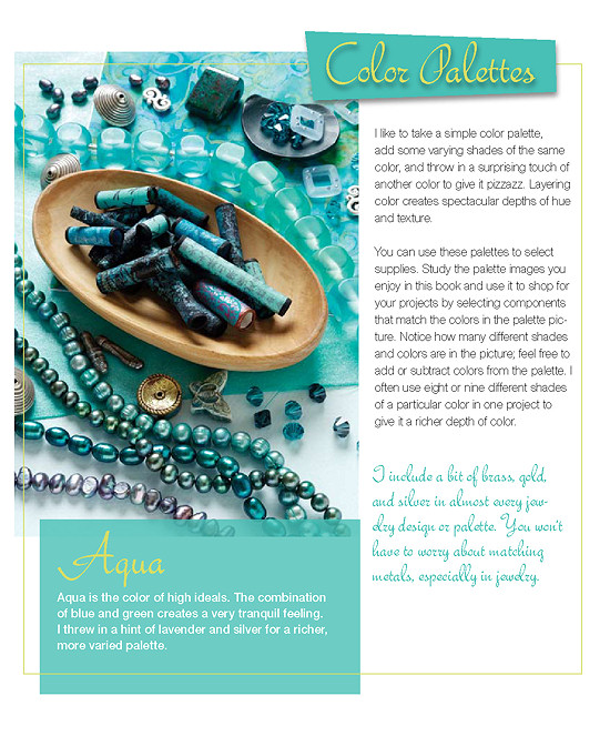 Excerpt from 'Fabulous Fabric Beads'