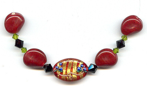 Focal Bead Necklace