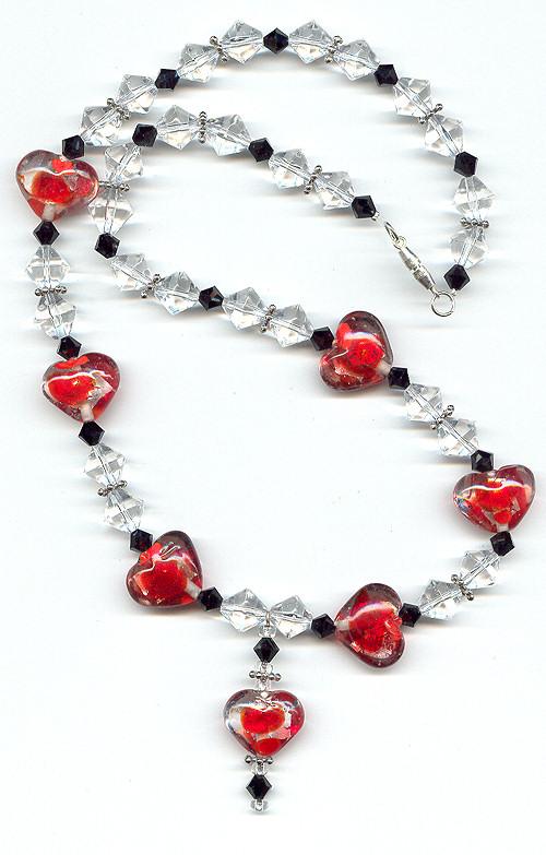 redheartandbiconenecklace500