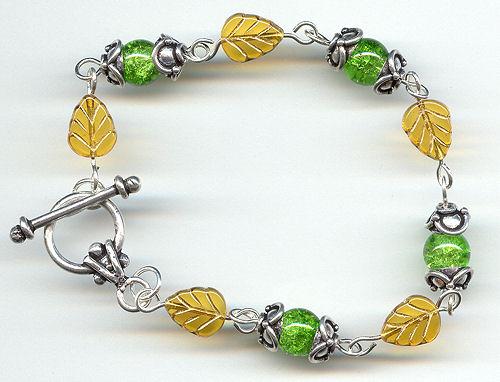 leafandcracklebeadbracelet5001