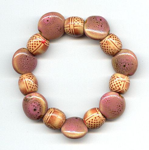 warmtonedwoodenceramicbracelet